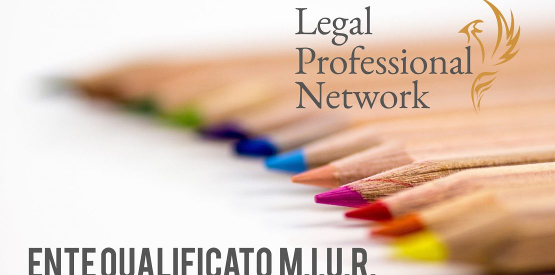 MIUR Legal professional network ente qualificato al MIUR