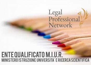 MIUR Legal professional network ente qualificato al MIUR